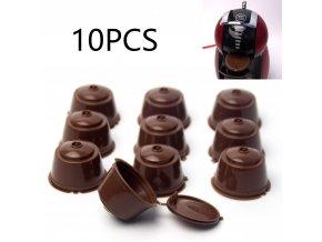 Filtr do kávovaru / plnitelné kapsle dolce gusto 10 ks PLANET