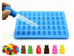 Želatinové formy / gummy bears