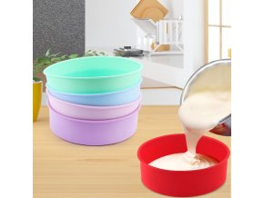 0 main round silicone cake mold 4 6 8 10 inch silicone mould baking forms silicone baking pan for pastry cake