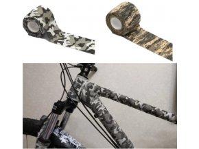 Samolepky / ochranná páska na kolo