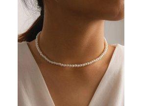 náhrdelník s perlami CHARM