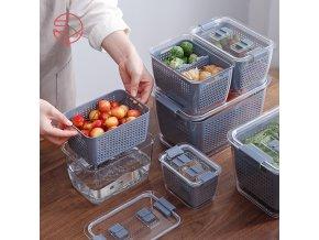 Dózy na potraviny / organizér do kuchyně MULTI