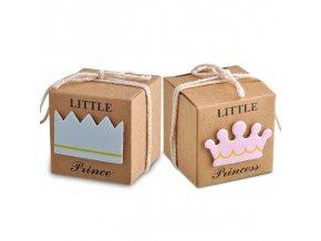 Sada - dárková krabička / narození miminka - dárek pro hosty BABY SHOWER