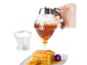 Dávkovač medu / nádoba na med SQUEEZE