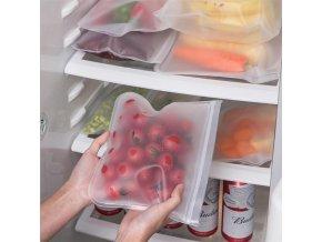 Uzavíratelné sáčky na potraviny / silikonové sáčky FOOD