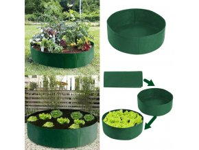 mainimage2Grow Bags Raised Plant Bed Garden Flower Planter Plant Root Growing Box Jardin Elevated Vegetable Box