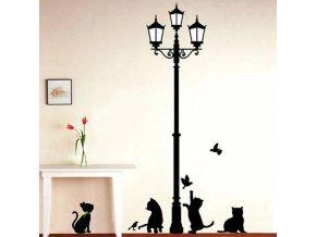 Samolepka na zeď LAMP