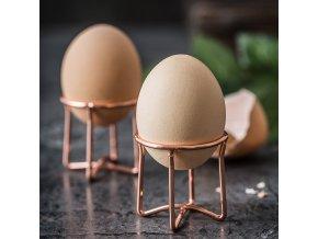 Kalíšek na vajíčka / moderní stojánek na vajíčka PINK