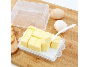 Průhledná máslenka / dóza na máslo MARRY