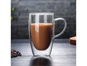 Hrnečky na kávu / dvoustěnný hrnek DOUBLE