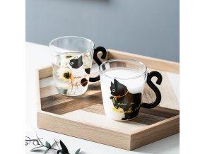 Skleněné hrnečky / skleničky CAT
