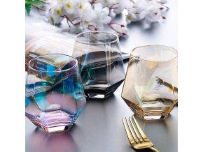 Kreativní panáky / panáky na alkohol DIAMOND