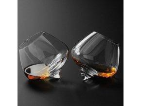 Rotační sklenice / panáky na alkohol WHISKEY