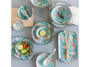 Servírovací talíře / jídelní talíře ASIAN