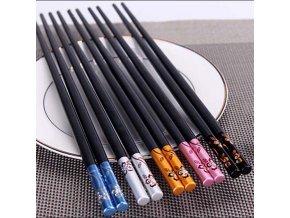 Krásné jídelní hůlky / čínské hůlky BLOOM