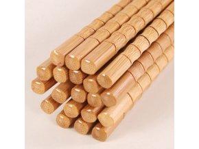 Ekologické jídelní hůlky / čínské bambusové hůlky BAMBOO