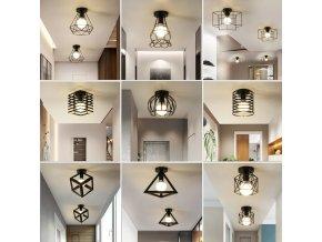 Lampy / Stropní vintage lampa