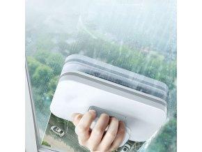 Magnetický čistič na okna / oboustranná stěrka na okna MAGIC