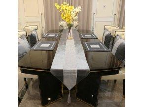 Sváteční běhoun na stůl / moderní stolní běhoun STAR