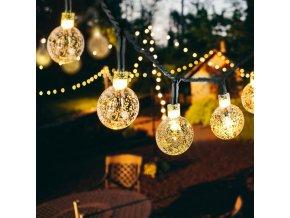 0 main new 2050 leds crystal ball 5m10m solar lamp power led string fairy lights solar garlands garden christmas decor for outdoor