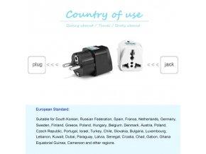 Cestovní adaptéry CONVERT