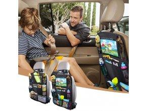Organizér na sedačku do auta, 2 ks v balení BACK