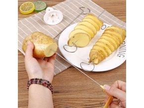mainimage01Set Potato Spiral Cutter Cucumber Slicer Kitchen Accessories Vegetable Spiralizer Spiral Potato Cutter Slicer Kitchen Gadgets