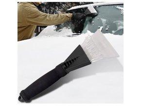 Škrabka na led + smetáček na sníh / škrabka na auto ICE