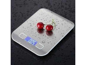 mainimage310 5Kg Kitchen Weight Electronics Scale Stainless Steel Food Diet Postal Balance Cuisine Measuring Tool LCD