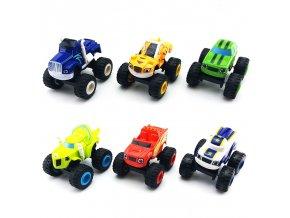 Sada 6 ks - Autíčka pro děti / modely autíček RACE