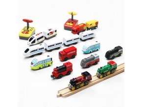 Vlaková souprava / vláček na dálkové ovládání / vláček na hraní TRAIN