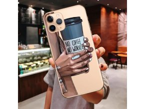 variantimage16Princess Female Boss Coffee Case For iPhone 11 Pro Max 12Pro Max Vogue Girl Soft Cover
