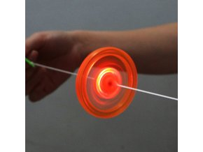 mainimage01pc Flash Pull Line Led Flywheel Hot Fire Wheel Glow Flywheel Whistle Creative Classic toys for