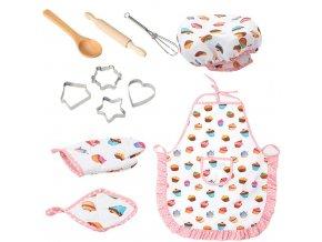 Set do dětské kuchyňky pro holky COOK