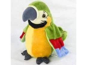 Mluvící hračka / mluvící papoušek / elektrický papoušek WINGS