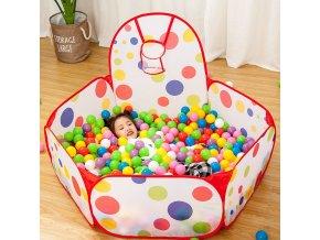 Suchý bazén s míčky / kuličkový bazén KIDS