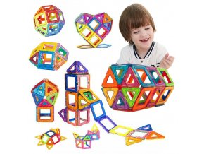 mainimage1100PCS 50pcsMagnetic Building Blocks Magnetic Designer Construction Set Model Building Magnets Magnetic Blocks Educational Toy