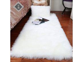 0 main plush soft european bedroom carpet imitation wool pad long hair bedside bay window cushion sofa cushion white red window carpet