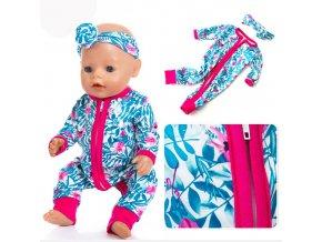 Oblečení pro panenky / overal pro panenky BABY DOLL