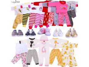 Oblečení pro panenky / roztomilé oblečky pro panenky PYJAMAS