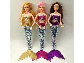 obleček na barbie panenku / oblečení pro panenky - mořská panna MERMAID