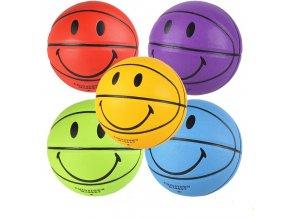 Stylový basketbaloví míč / míč na basketbal SMILE