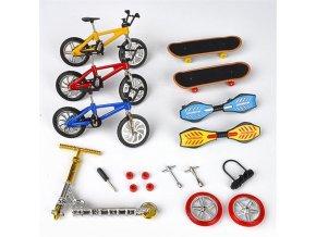 Set mini skateboard / mini kolo FINGER