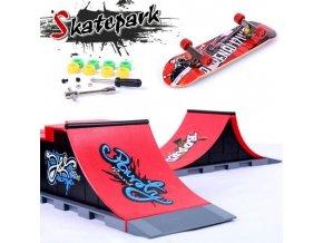 Fingerboard se skateparkem COOL