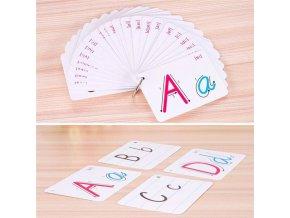 Výukové kartičky LETTERS