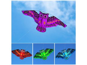 mainimage0New Cartoon Owl Flying Kites For Children Adult Outdoor Fun Sports Toy