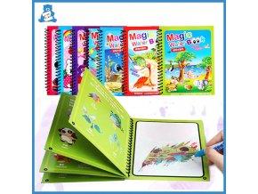 Kreslicí tabulky / kreslicí kniha Montessori