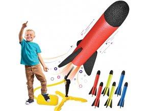 Létající hračky / hračka raketa PUMP JUMP