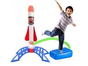 Vystřelovací raketa / létací hračky SPACE