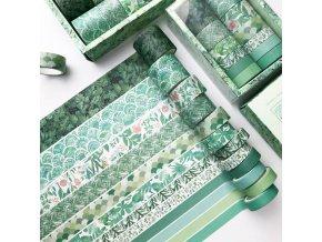Sada 12 ks washi pásky / scrapbooking / dekorativní pásky ART